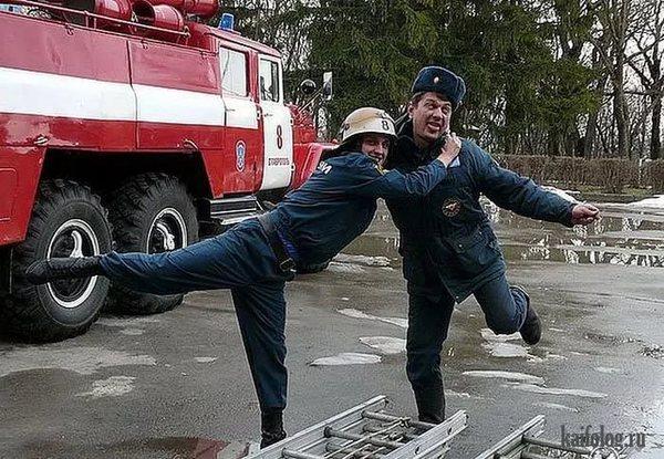 Полицейские (милицейские) байки ч.4 пожарные, Милиция, байки, смешно!