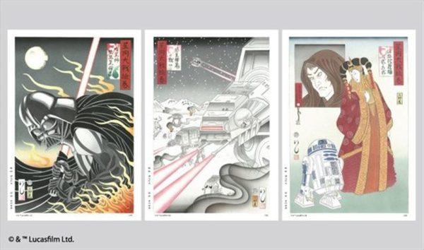 Картины изменчивого мира далёкой галактики или Звездные войны в японском стиле star wars, Darth Vader, Дарт Мол, япония, Масуми Исикава, дарт вейдер, видео, длиннопост