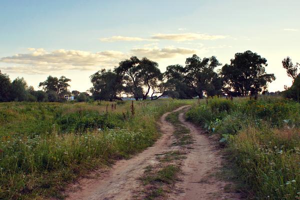 Река Сим и окрестности на закате фотография, пейзаж, Река, закат, длиннопост