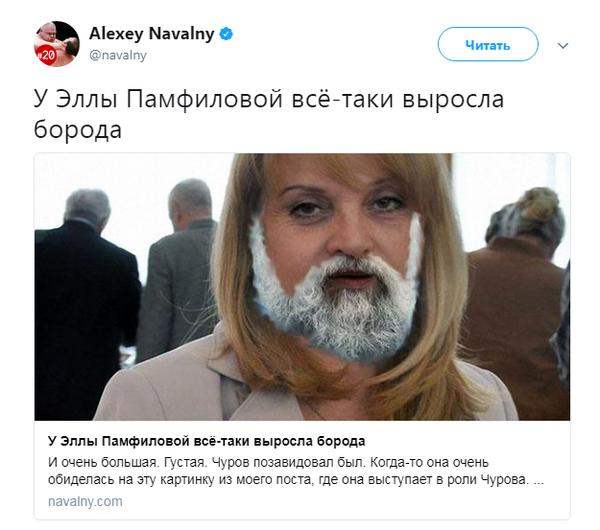 """И этот """"детсад"""" метит в президенты? Россия, политика, Алексей Навальный, памфилова, twitter, детский сад"""