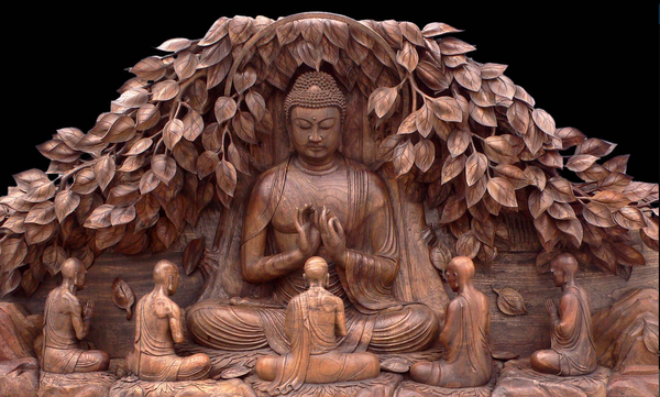 Японская храмовая резьба по дереву Япония, Буддизм, Резьба по дереву, Арт, длиннопост