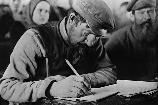 "«Латиницу называли ""алфавитом революции""» история, кириллица, латинизация кириллицы, латиница, длиннопост"
