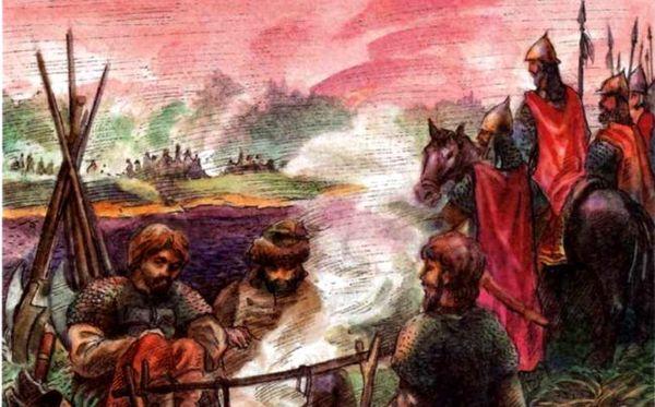 Битва на Воже история, прошлое, Русь, хомячок-историк, длиннопост