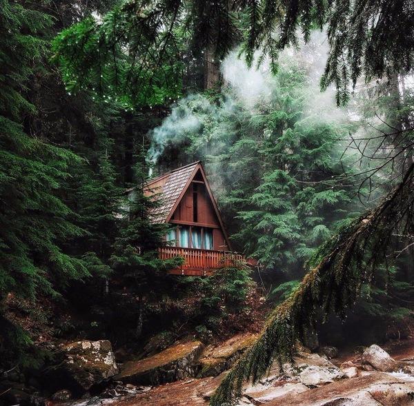 Прекрасные места для уединения с природой. дом, своя атмосфера, Природа, уединение