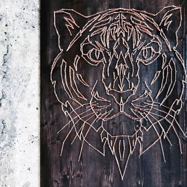 Тигр) творчество, тигр, кот, Искусство, Современное искусство, декор, ручная работа, работа на заказ, длиннопост