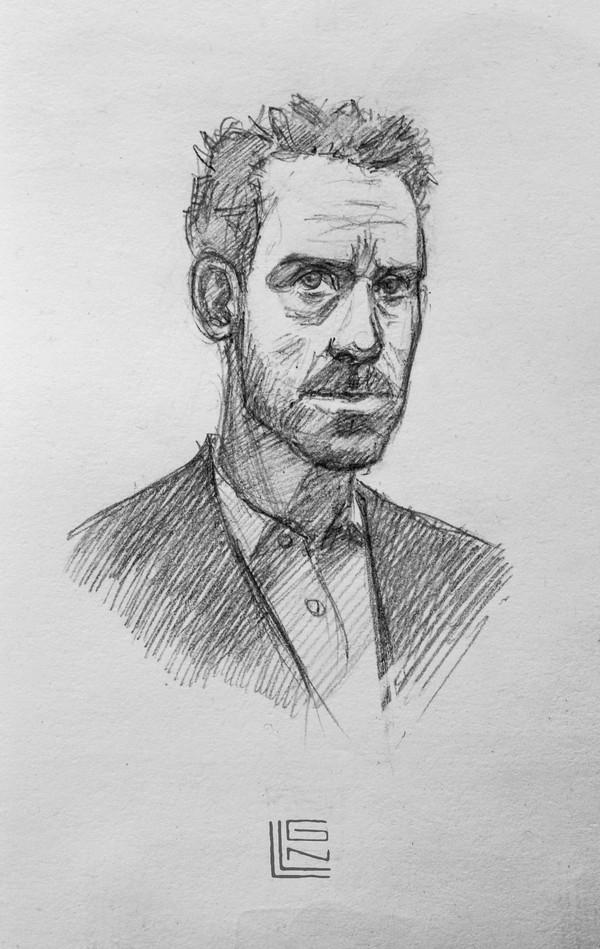 Доктор Хаус Доктор Хаус, рисунок, рисунок карандашом, фан-арт, иллюстрации, длиннопост, пятничный тег моё