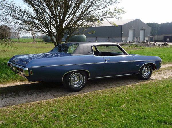 1969 Chevrolet Impala SS-427 Custom Coupe 1969 Chevrolet Impala, авто, фотография, ретроавтомобиль, длиннопост