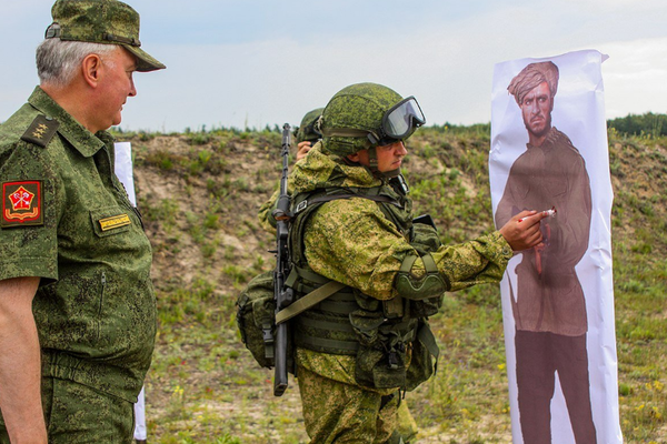 Правильный ростовик. Россия, фотография, Photoshop, прикол, юмор
