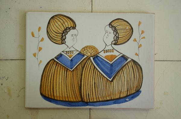 Еще плитки ! ручная работа, керамическая плитка, художественная роспись, длиннопост