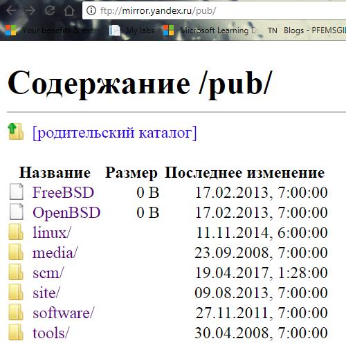 """""""Зеркало яндекса"""" ФТП архив дистрибов *никсов поломалось? зеркало яндекса, FTP, файловый архив, поломанный, скриншот, поломка, IT, админское"""