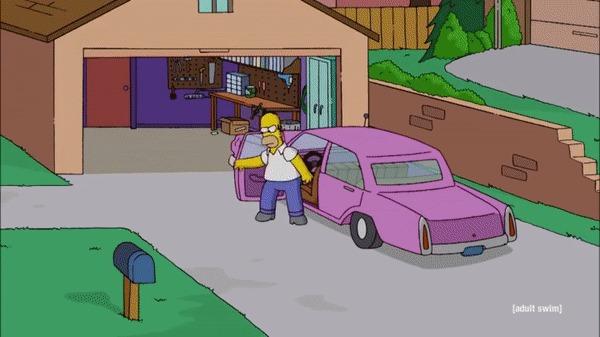 """""""Моя девушка любит Симпсонов и ненавидит Рик и Морти, и тогда я показал ей вот это"""" гифка, imgur, Симпсоны, Рик и Морти"""