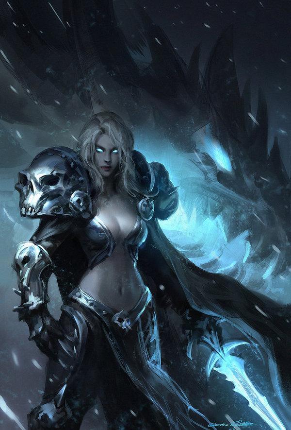 Arthas Menethil DeviantArt, Арт, девушки, Игры, wow, правило 63