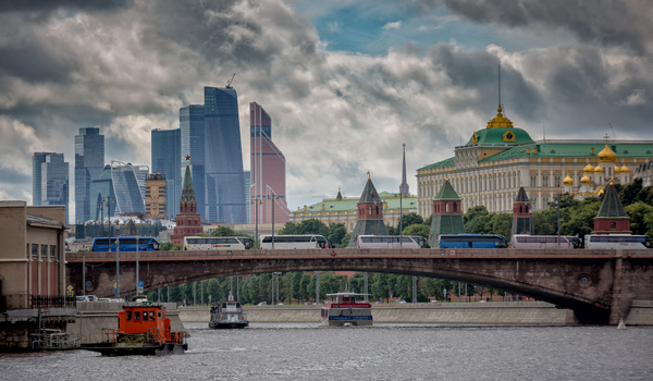 Москва - в одном фото.