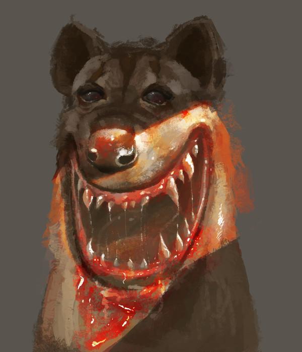 Несколько страшных картинок от Loy Baldon арт, Loy Baldon, ужасы, длиннопост