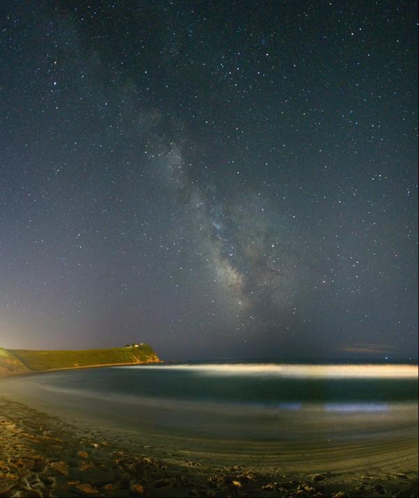 Млечный путь в поселке Южно-Морской. млечный путь, находка, Небо, звезда, владивосток, астрофото