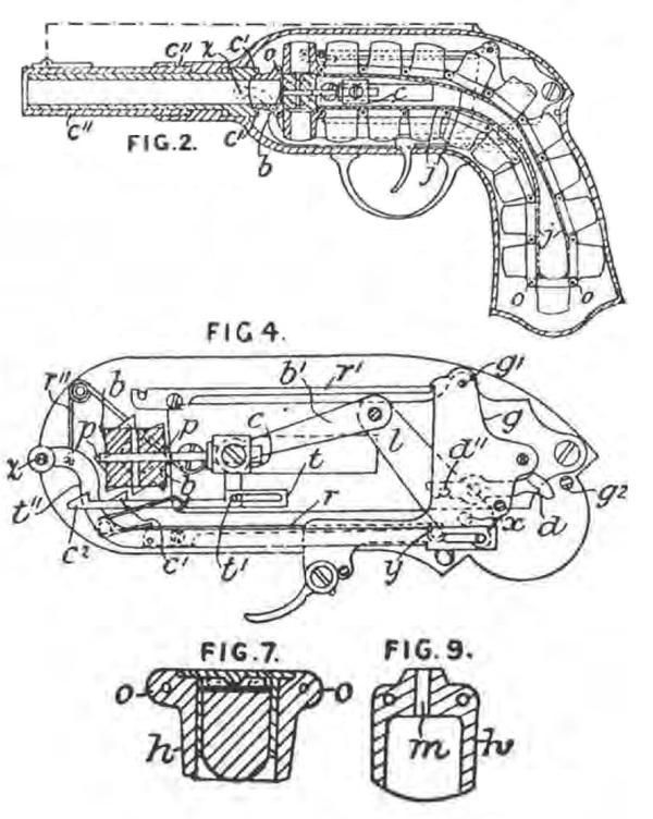 Игольчатый цепной пистолет Гайкота (Guycot Chain Pistol) Оружие, пистолеты, Цепной, длиннопост