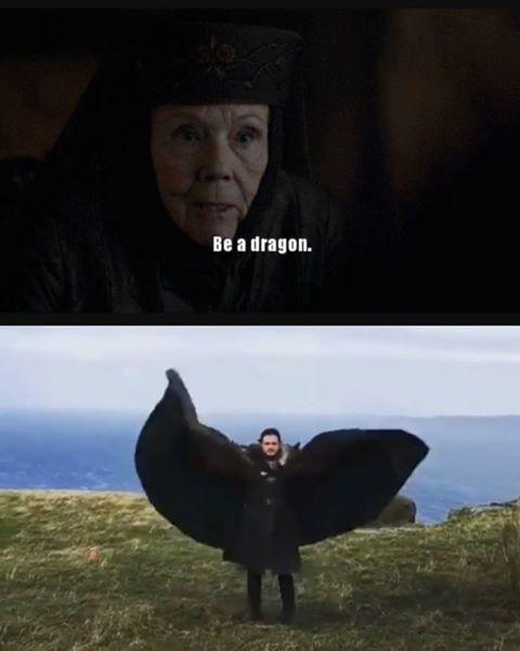 Ты - дракон. Будь драконом.