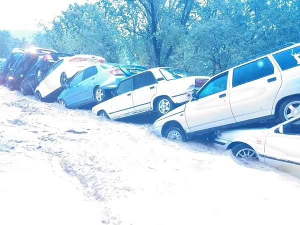 Последствия дождичка в Судаке.. погода, Крым