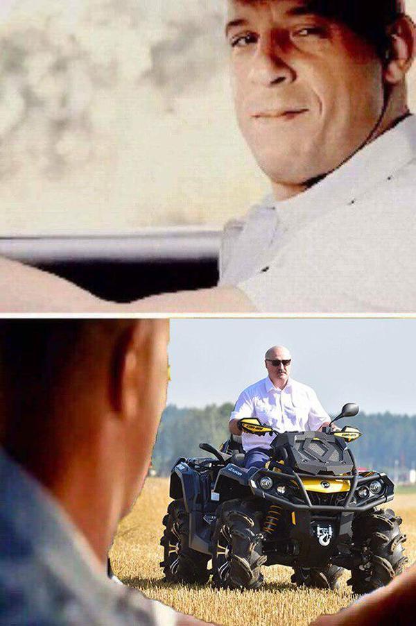 Вин Дизель и... Лукашенко