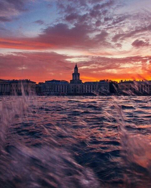 Санк -Петербург Санкт-Петербург, закат, красота, длиннопост