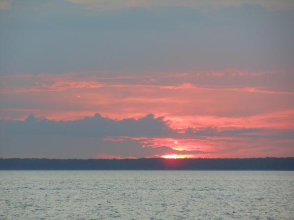 Закат на Финском заливе :) Закат, Санкт-Петербург, Финский залив