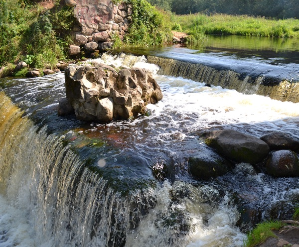 Белорусский водопад водопад, Беларусь, длиннопост