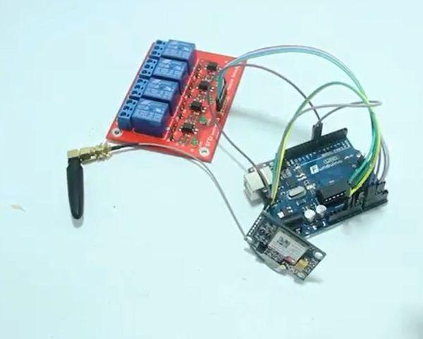 SMS-контроллер на базе SIM800L радиолюбители, радиотехника, SMS smart, контроллер, Arduino, реле, Радиоуправление, gsm, видео, длиннопост