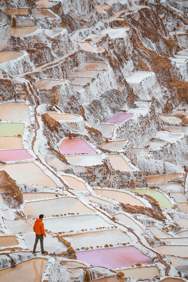 Удивительная красота соляных прудов Перу Перу, Соляные пруды, красота, мир, длиннопост