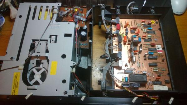 """Легкий твик прогрывателя """"PHILIPS CD304"""" самара, ремонт электроники, Folk Audio Custom, компакт-диск, музыка 80-ых, длиннопост"""