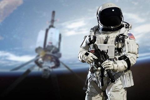 Оружие космонавтов: от ножа до пистолета космонавт, Оружие, космос, длиннопост