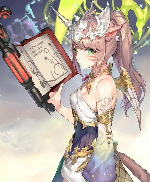 Anime Art аниме, Anime Art, неко, арт, Картинки, кот