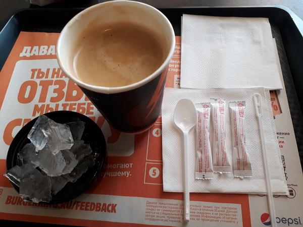 Лайфхак в фастфудах... Лайфхак, сахар, кофе, фастфуд