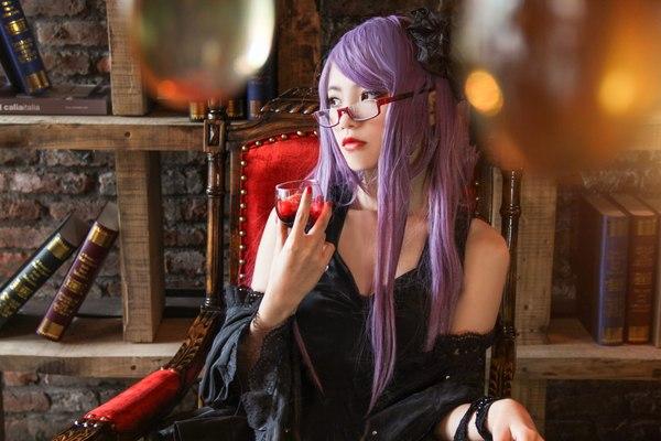 Rize Kamishiro cosplay Косплей, косплей по аниме, Rize Kamishiro, tokyo ghoul, длиннопост, аниме
