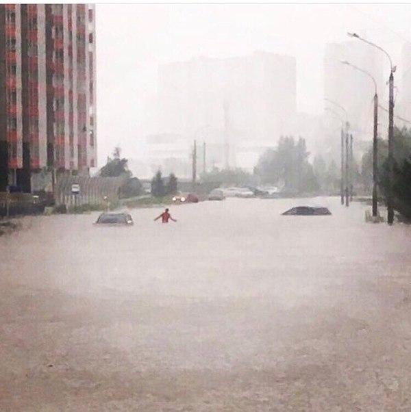 В Красноярске осадки,  небольшой дождь Дождь, Красноярск, Спасибо Толя Конский, длиннопост