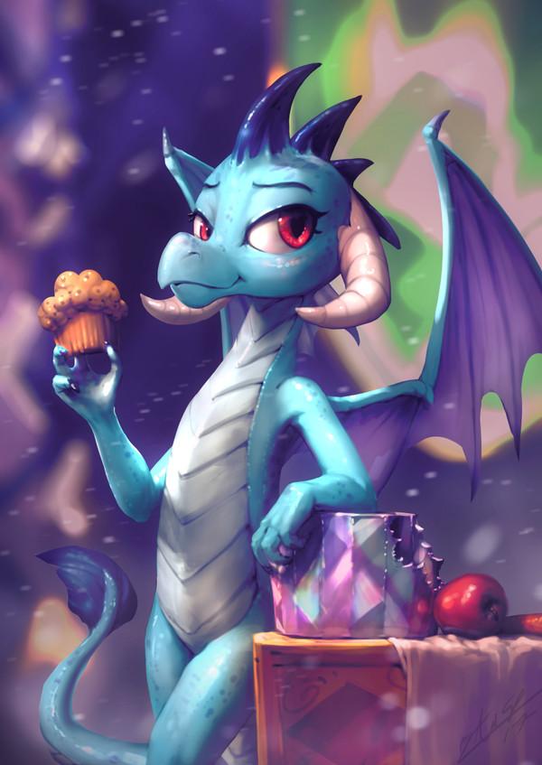 Dragon's Ember Threat My Little Pony, ponyart, Princess Ember, MLP Season 7