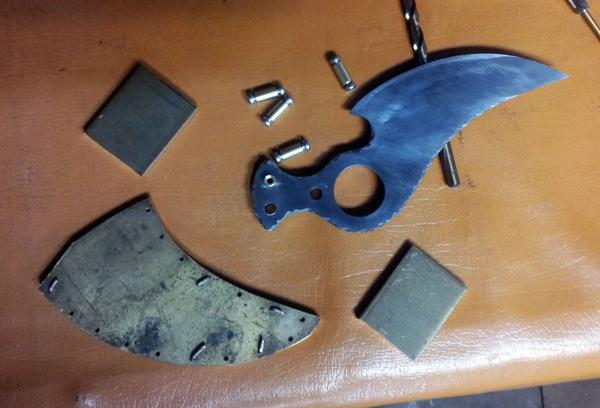 Ðкскалибур Имаго Своими руками, Нож, Рукоделие с процессом, Ненавистные ножны, Металл, Рукоделие, Гифка, Длиннопост