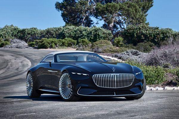 Электрический кабриолет Vision Mercedes-Maybach 6 мерседес, авто, электромобиль, дизайн, будущее, длиннопост
