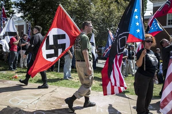 Не нацисты, а борцы за права белых. Политика, нацизм, Шарлоттсвилл, США, длиннопост