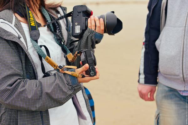Подруга из Японии приехала посмотреть Ягры Ягры, Северодвинск, Север, Море, Архангельская область, Пасмурно, Длиннопост