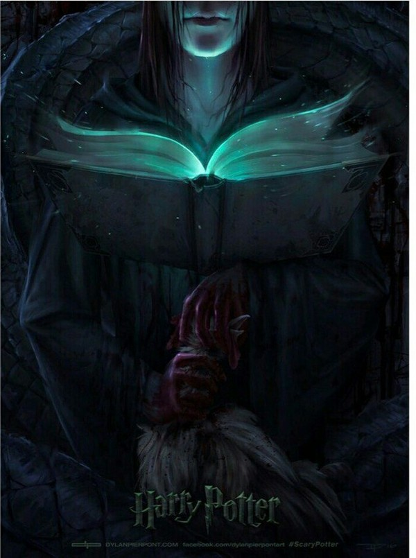 Жуткие киноплакаты к фильмам о Гарри Поттере, которые обеспечат вам ночные кошмары: Киноплакат, Кинематограф, Гарри Поттер, Кошмар, Длиннопост