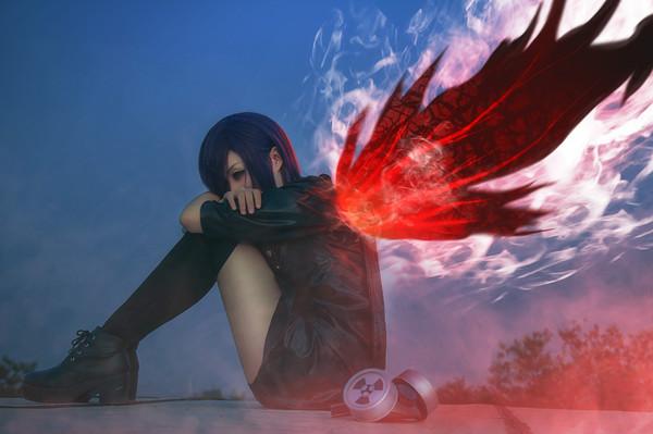 Touka Kirishima cosplay Косплей, косплей по аниме, аниме, Kirishima Touka, tokyo ghoul, длиннопост