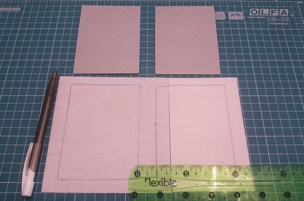 Обложка для блокнота МК моё, длиннопост, блокнот ручной работы, обложка, скрапбукинг, экокожа, рукоделие с процессом
