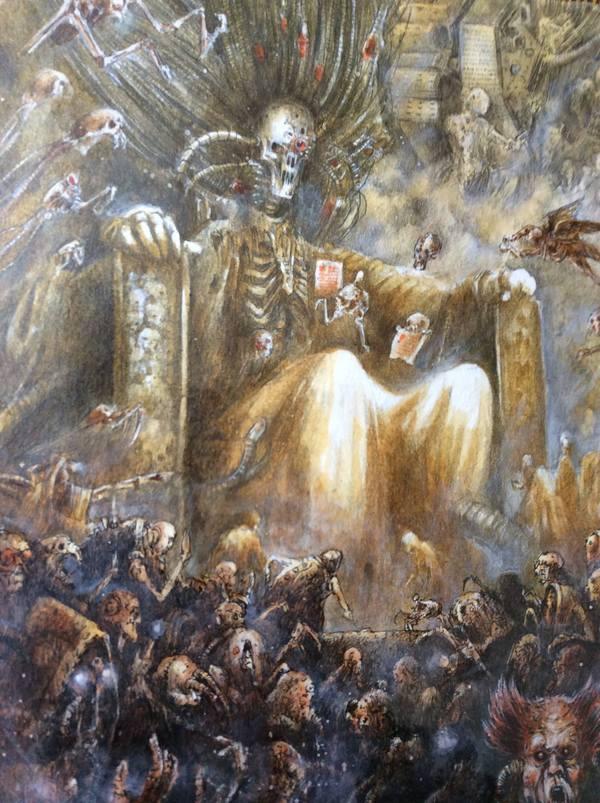 Выглядит как крутая вечеринка, которую закатили на похоронах :/ Warhammer 40k, warhammer, Бог-Император, Wh art