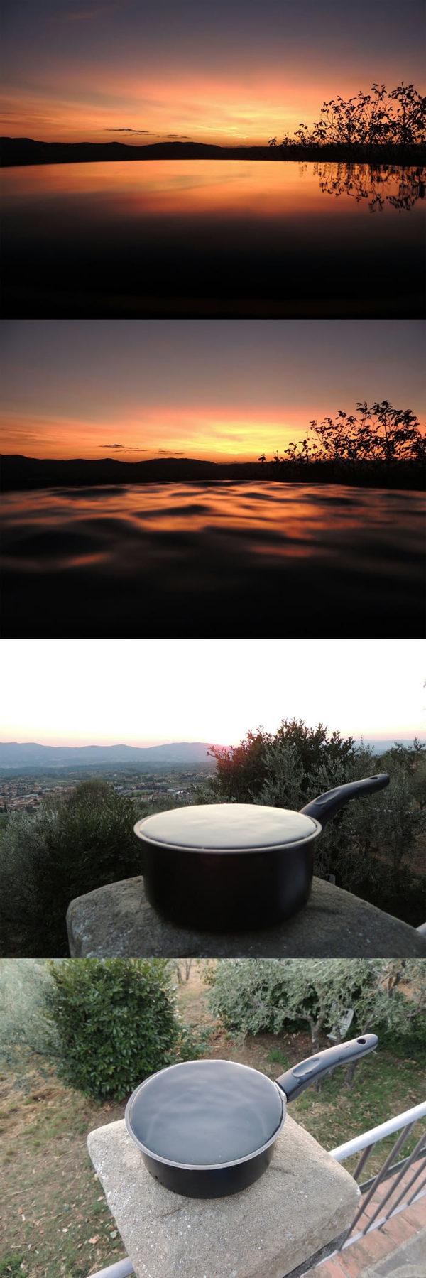 Когда тебе очень нужно фото с озера, но ближайшее в 200км. фотография, длиннопост, не мое, 9gag