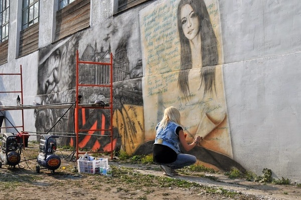 Граффити граффити, Великая Отечественная война, фотография, не мое, длиннопост