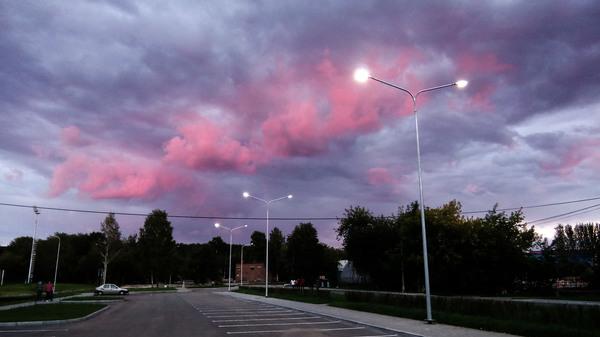 Отсветы заката