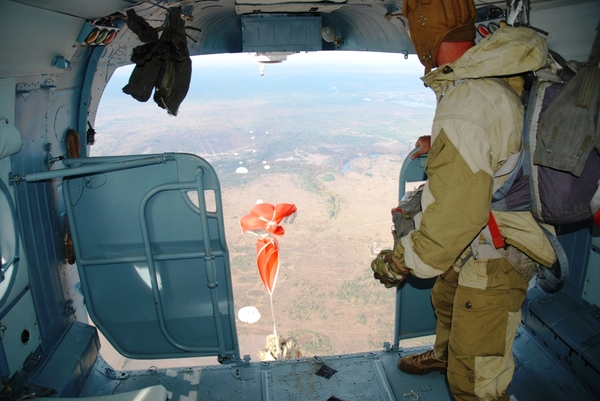 Секс парашютиком