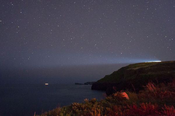 Еще одна вылазка на мыс Вятлина астрофото, владивосток, млечный путь, остров русский