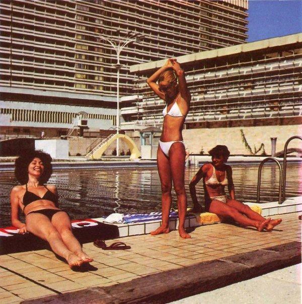 "Бассейн гостиницы ""Жемчужина"", Сочи, 1970-е"