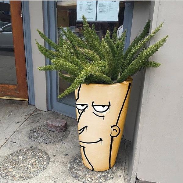 Пссс..Парень, не знаешь где Барт Симпсон?